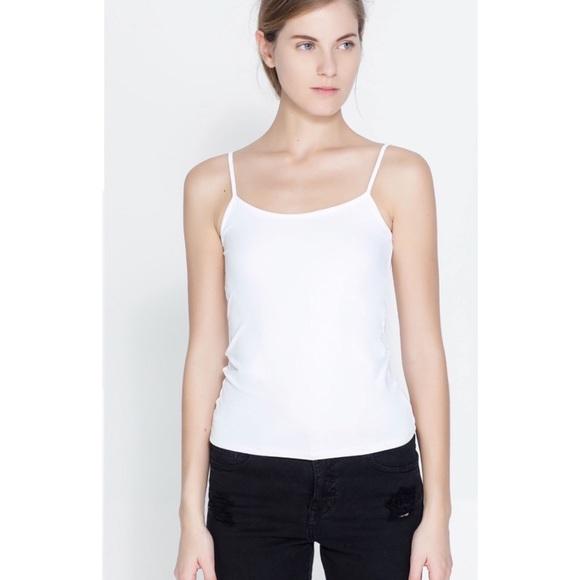 c4c8d14f Zara Tops | White Cami Top | Poshmark